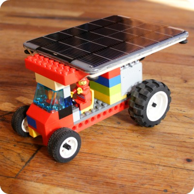 Solar Powered Lego Car   Voltaic Solar Blog
