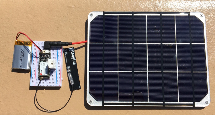 Build Solar Powered Connected Devices With Particle Voltaic Systems Blog